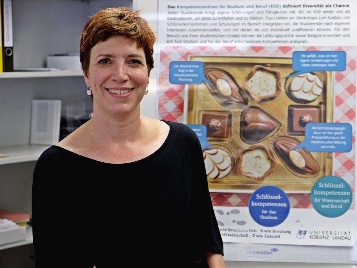 Dr. Irene Lamberz ist Geschäftsführerin des Kompetenzzentrum für Studium und Beruf (KSB).