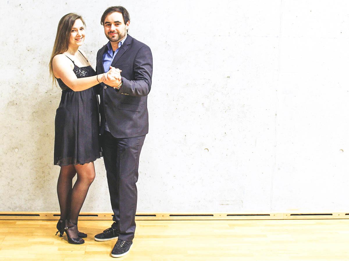 Mareike Theobald und Benedikt Schell sind die Mitorganisatoren der WinterUni. Fotos: Esther Guretzke