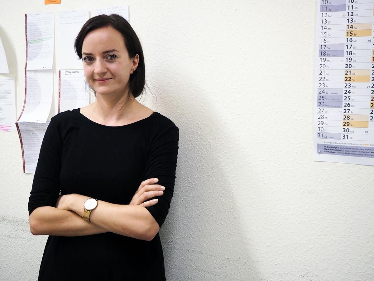 Anna-Maria Renner erforscht in ihrer Promotion, wie man als weiblicher Politiker von Emotionen profitieren kann. Foto: René Lang