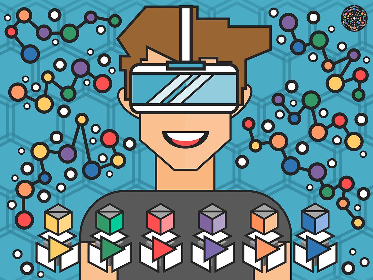 Gleiche Bildungschancen für jeden Schüler dank digitaler Lernhilfen: Die Lehr- und Lernmaterialien von Learning Level Up sind dynamisch und interaktiv. Sie können wie Bausteine zusammengesetzt und so dem individuellen Lernprozess jedes Schülers angepasst werden. Grafik: Learning Level Up