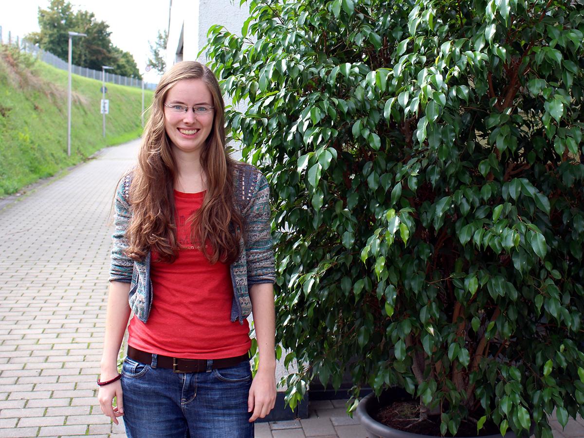 KuWi-Studentin Linda Koch verbrachte vier Monate an der Universität in Brixen. Foto: Esther Guretzke