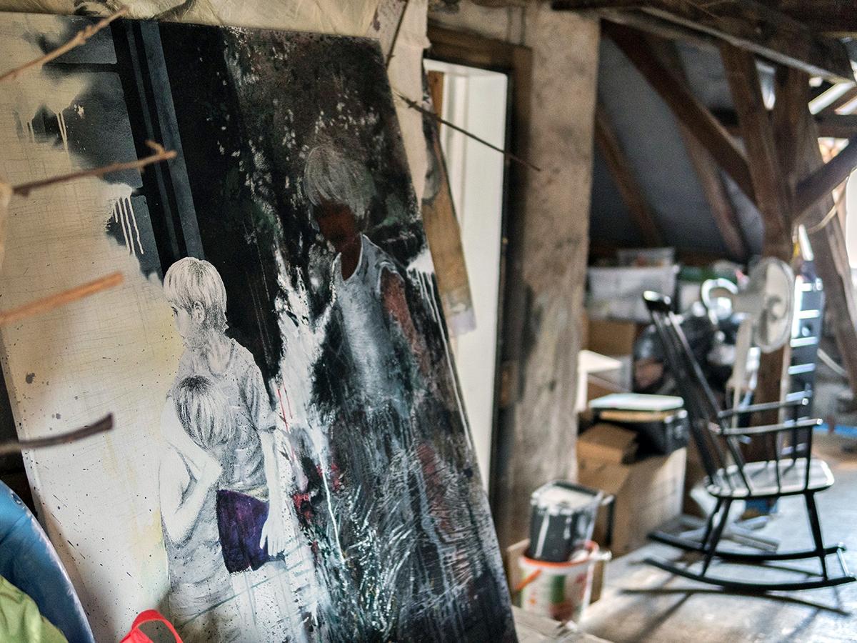 Familienbande: Kaufmanns Bilder sind geprägt von seiner Familiengeschichte.