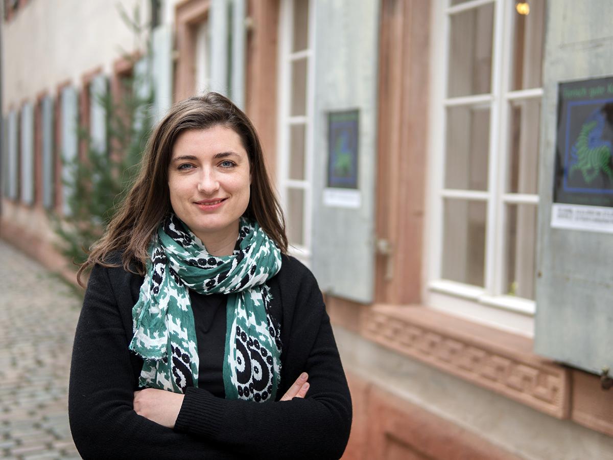 Melanie Hussak war selbst schon mehrfach in Israel und hat Givat Haviva besucht. Die Organisation ist nach der jüdischen Widerstandskämpferin Haviva Reik benannt. Foto: Philipp Sittinger