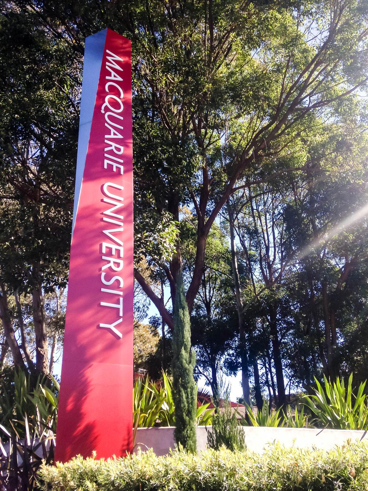 Die Macquarie Universität in Sydney legt vor allem Wert auf eine bunte Gemeinschaft.