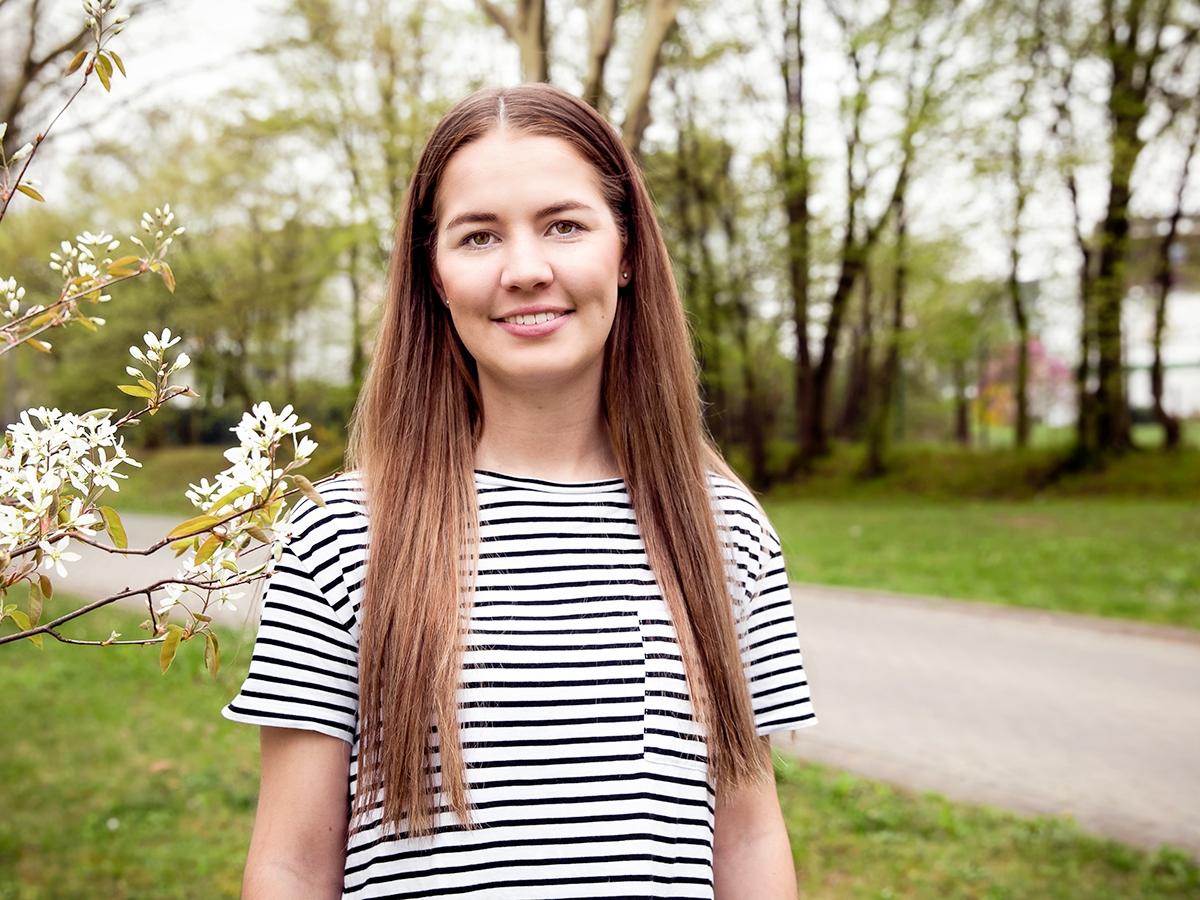 Joline Krauß muss als Co-Gruppenleiterin für FSJ-Teilnehmer Vertrauensperson und Autorität zugleich sein. Foto: Teresa Schardt