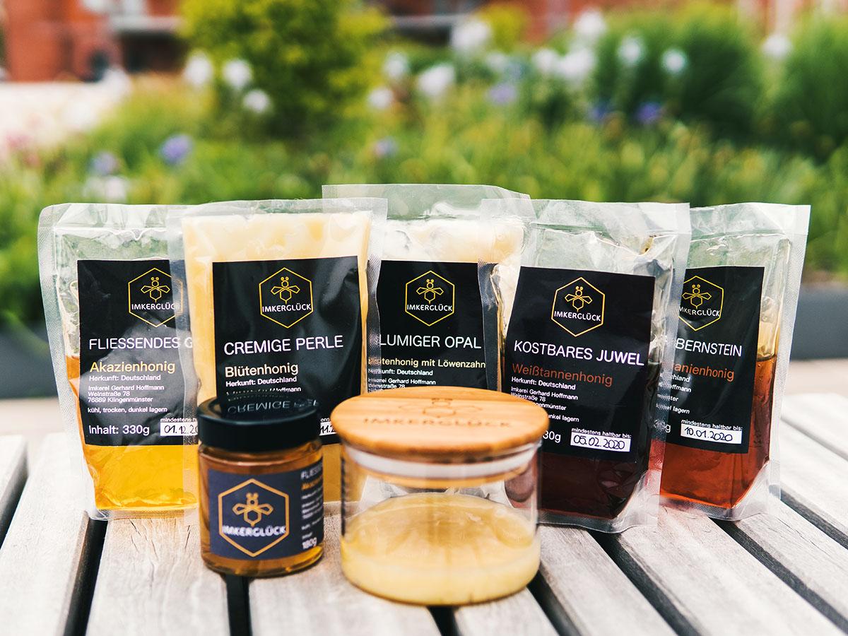 Hoffmanns Lieblingshonig ist die Pfälzer Edelkastanie, typischer Honig-Geschmack mit herber Note. Produkte aus dem Supermarkt mag sie gar nicht mehr.
