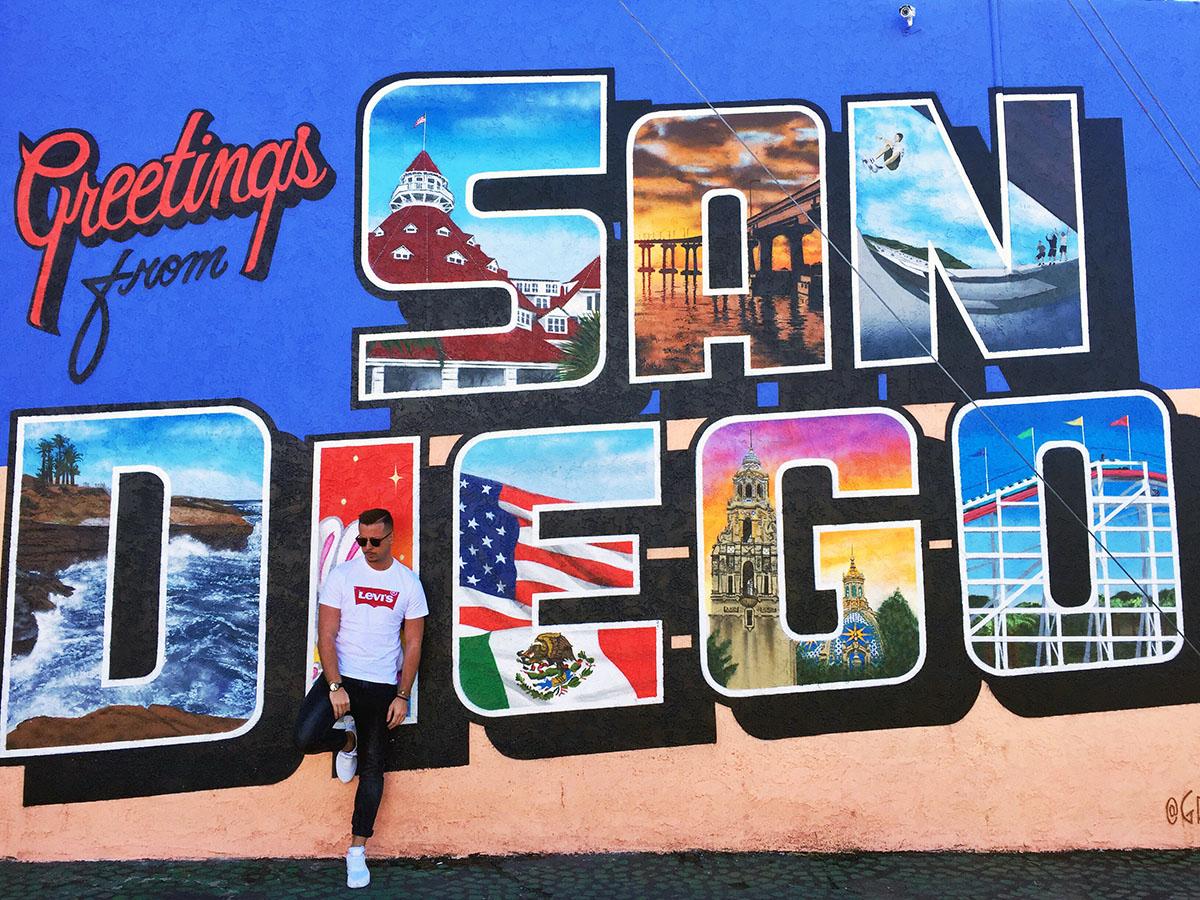 SoKo-Student Roland Solonik verbrachte ein halbes Jahr an der San Diego State University. Er genoss das Leben in Kalifornien, lernte aber auch die Vorzüge der Heimat zu schätzen. Fotos: Privat