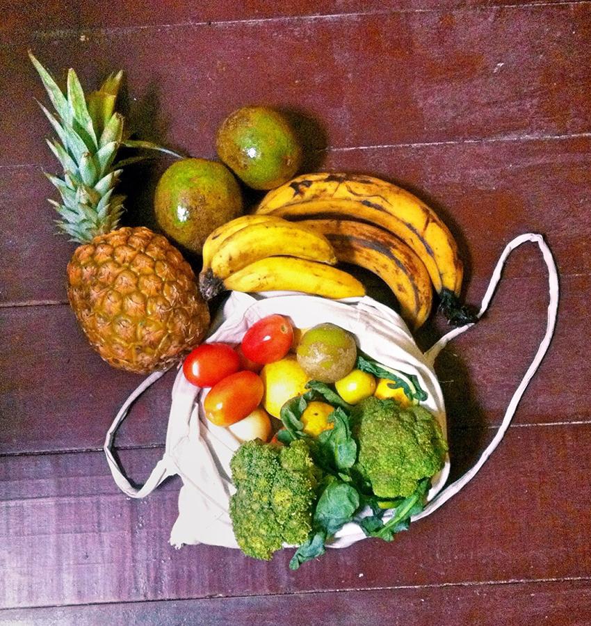 Für uns exotische Früchte gibt es in Mittelamerika frisch auf dem Markt.