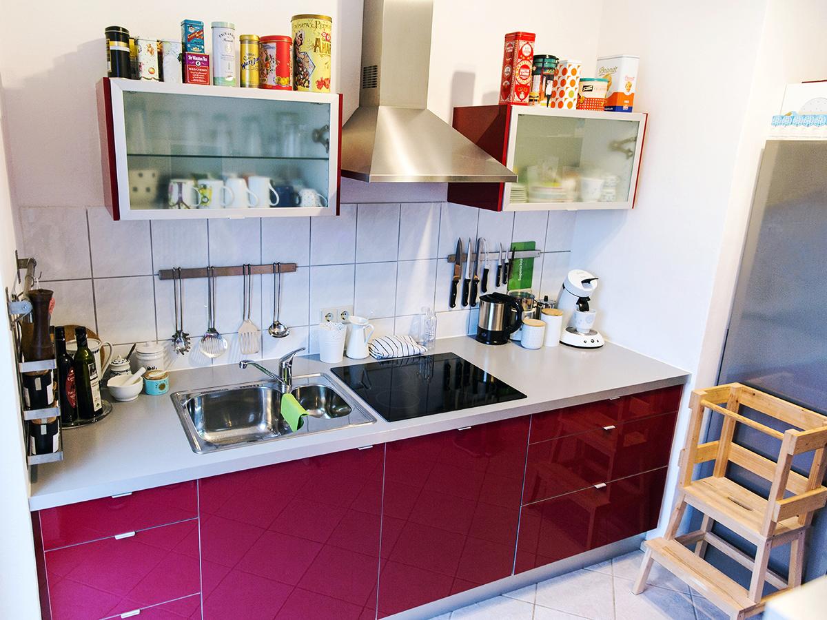 Die Küche der Familie ist picobello sauber.