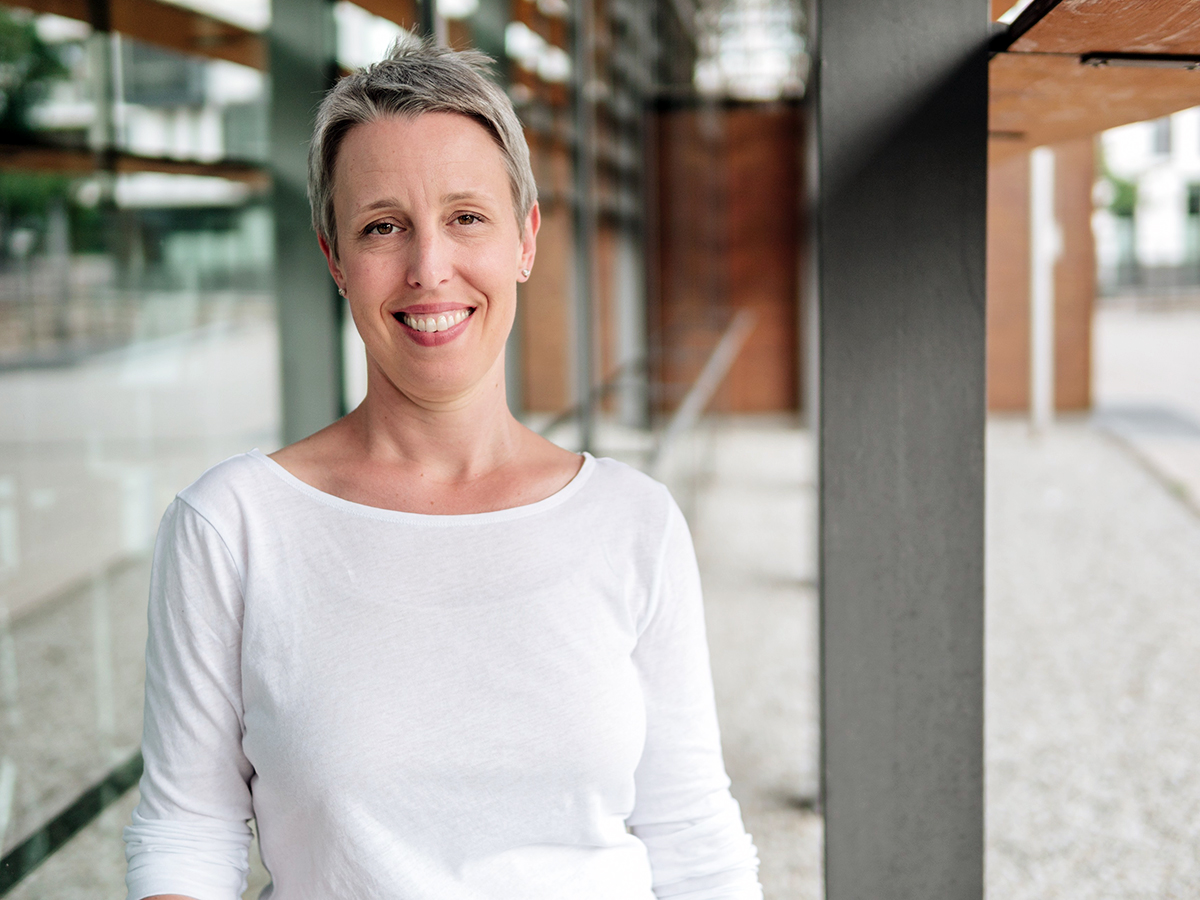 Dr. Nadine Thomas berät Menschen, die in ihrer aktuellen beruflichen Situation unglücklich sind und etwas verändern möchten. Foto: Philipp Sittinger