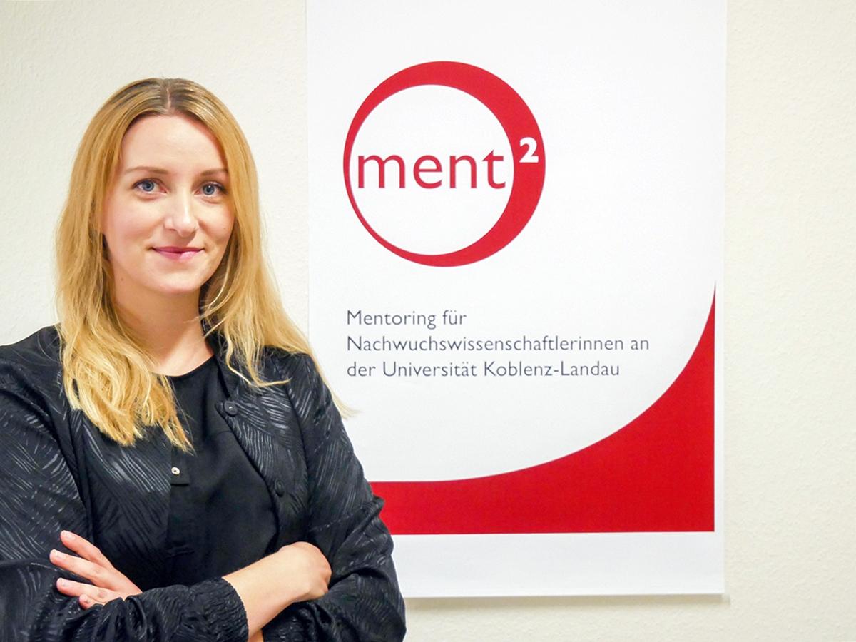 Jewgenia Weißhaar ermutigt Frauen, einen Schritt weiter auf dem wissenschaftlichen Karriereweg zu gehen. Foto: Jan Reutelsterz