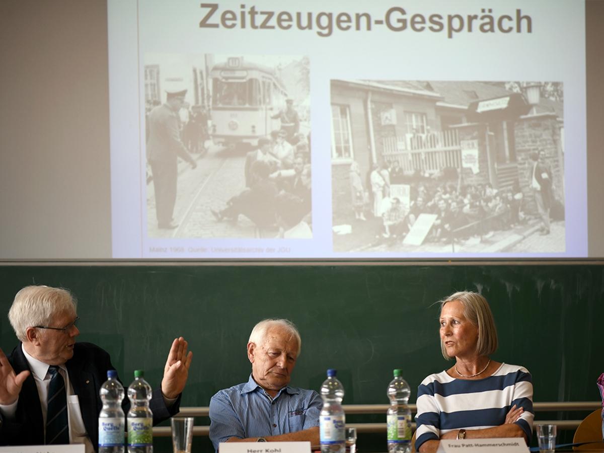 Das Gespräch mit Zeitzeugen hat Linsenmann und seine Mitstreiter tief beeindruckt. Foto: Linsenmann