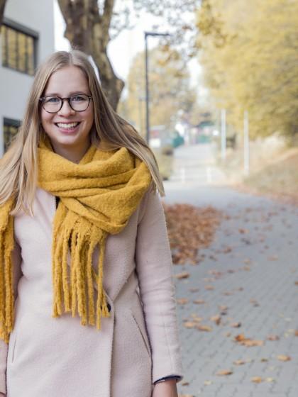 Charlotte Klaus erhielt ein Stipendium an der Universität Bozen. Nun ist sie wieder nach Koblenz zurückgekehrt und berichtet von ihren Erlebnissen. Foto: Teresa Schardt