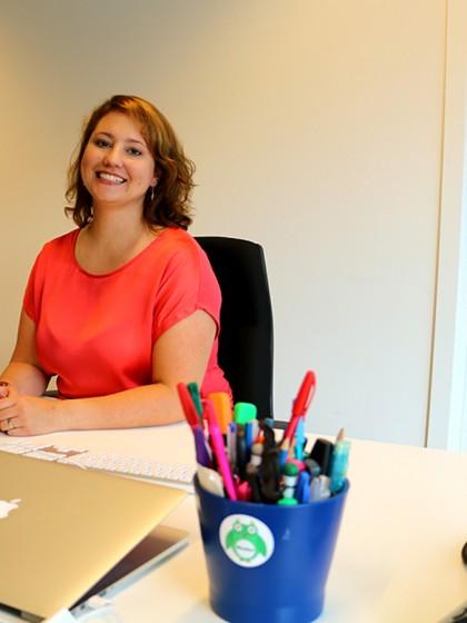 Rebecca Bundschuh arbeitet für eine Society aus Politikern, Wissenschaftlern und Wirtschaftsvertretern, die regelmäßig Umweltthemen diskutieren. Foto: Privat