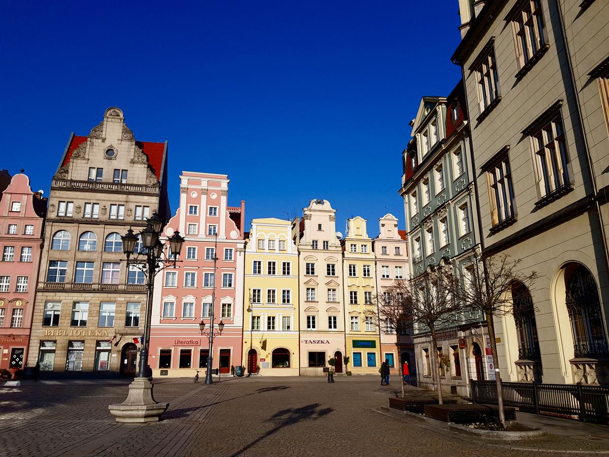 Der Rynek ist der Marktplatz und farbenfroher Mittelpunkt Breslaus. Foto: Privat