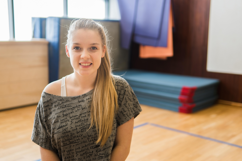 Ohne ihre Arbeit als Tanztrainerin wäre Melissa Morbach wohl nie auf die Idee gekommen, Grundschullehramt zu studieren. Foto: Philipp Sittinger