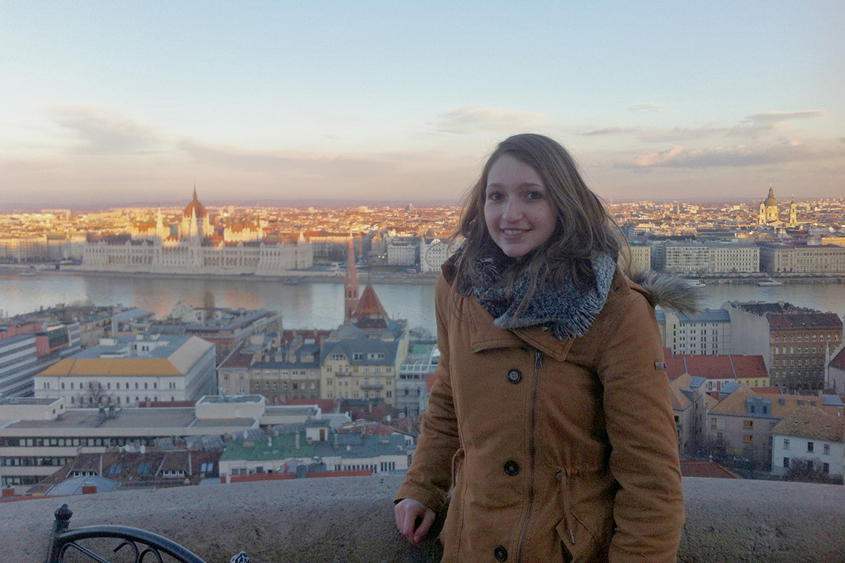 Rebecca Singer unternahm während ihres Erasmus-Semester in Prag einige Ausflüge. So zum Beispiel in die ungarische Hauptstadt Budapest. Fotos: Rebecca Singer