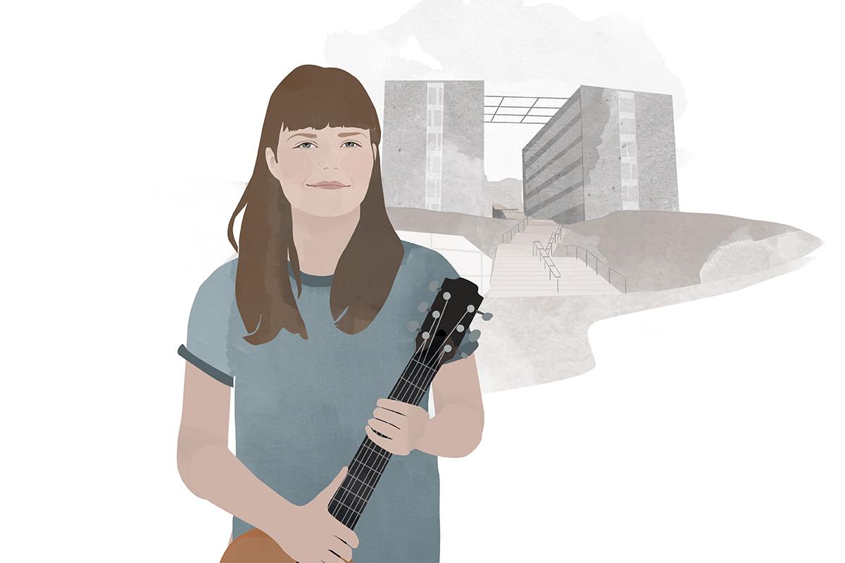 Heute schreibt Campus-Reporterin Maria Preuß. Illustration: Designstudio Mathilda Mutant