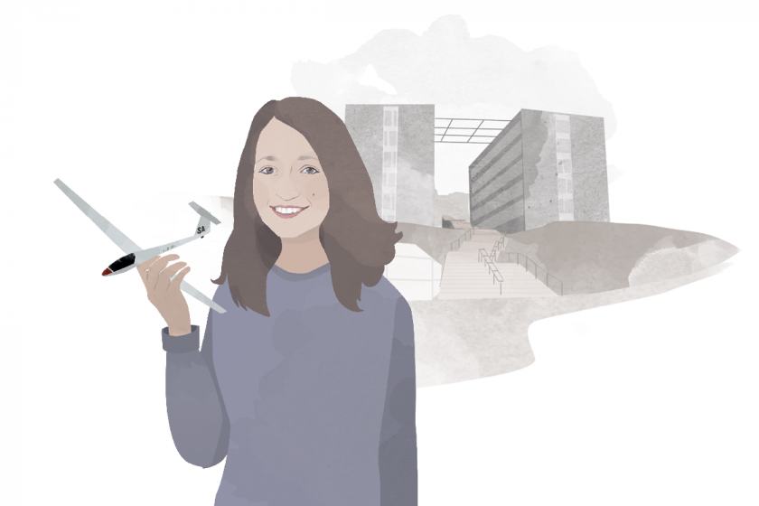 Heute schreibt Campus-Reporterin Rebecca Singer. Illustration: Designstudio Mathilda Mutant