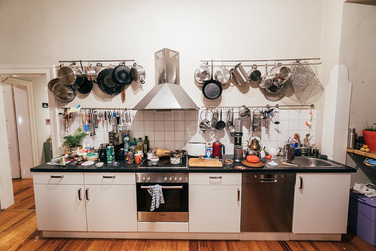 Die Küche ist der Lieblingsraum des Ostfriesen. Foto: Philipp Sittinger