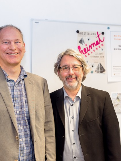 """Das Projekt """"Den Wandel gestalten – Visionen ermöglichen"""" von Michael Klemm und Eckhard Braun hilft freien Kultureinrichtungen bei einer Neuorientierung. Foto: Teresa Schardt"""