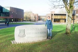 Laura Sistek verbrachte ein Auslandssemester an der University of Limerick. Fotos: Privat