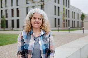 Ursula Reither ist verantwortlich für die Raumplanung an der Universität. Das ist besonders vor neuen Semestern eine große Herausforderung. Foto: Philipp Sittinger