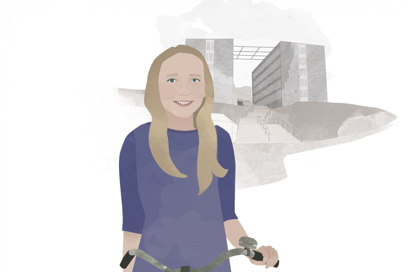 Heute schreibt Campus-Reporterin Lisbeth Wolf. Illustration: Designstudio Mathilda Mutant