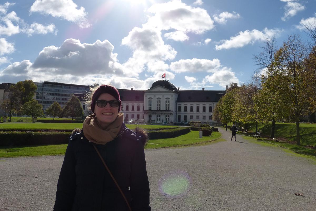 Anne Schlüter hat ein Auslandssemester in Wien verbracht. Die Stadt bot der Sozial- und Kommunikationswissenschaftlerin eine lebendige Kulturlandschaft. Fotos: Rebecca Singer