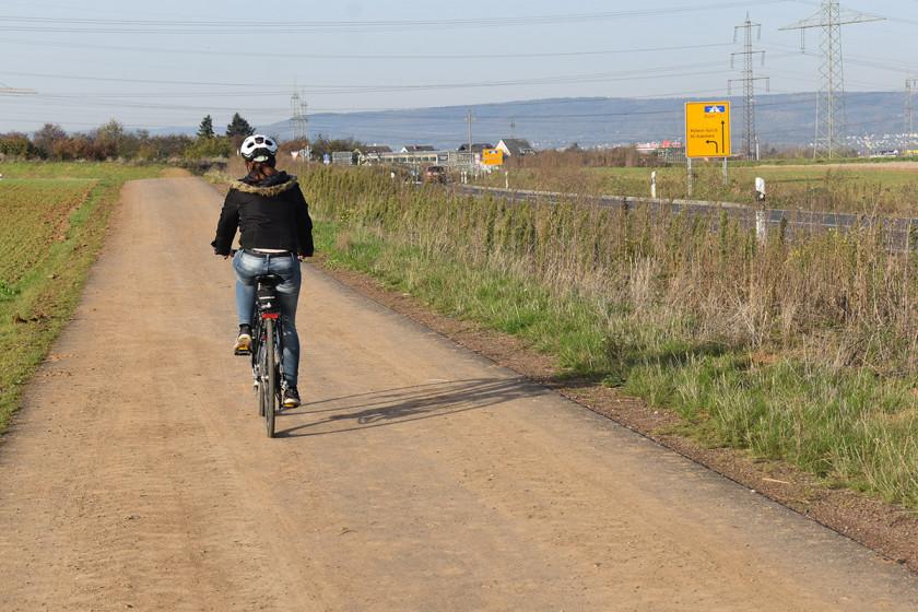 Reporterin Sarah-Maria Scheid ist gerne mit dem Rad unterwegs. Sicher fühlt sie sich an einigen Stellen in der Stadt aber nicht. Foto: privat