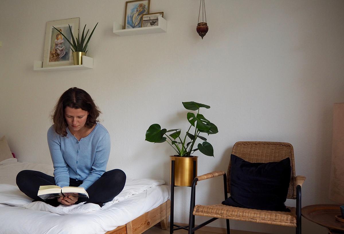 Sara Pipaud muss ihr Studium erst einmal in den eigenen vier Wänden absolvieren. Fotos: Sara Pipaud