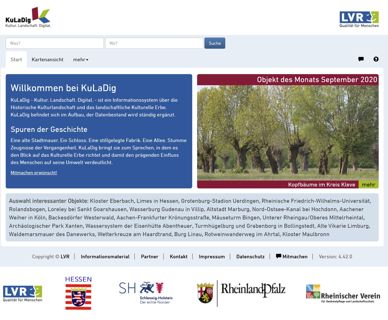 Auf der Wissensplattform kuladig.de des Landschaftsverbands Rheinland werden die Beiträge veröffentlicht. Foto: Screenshot