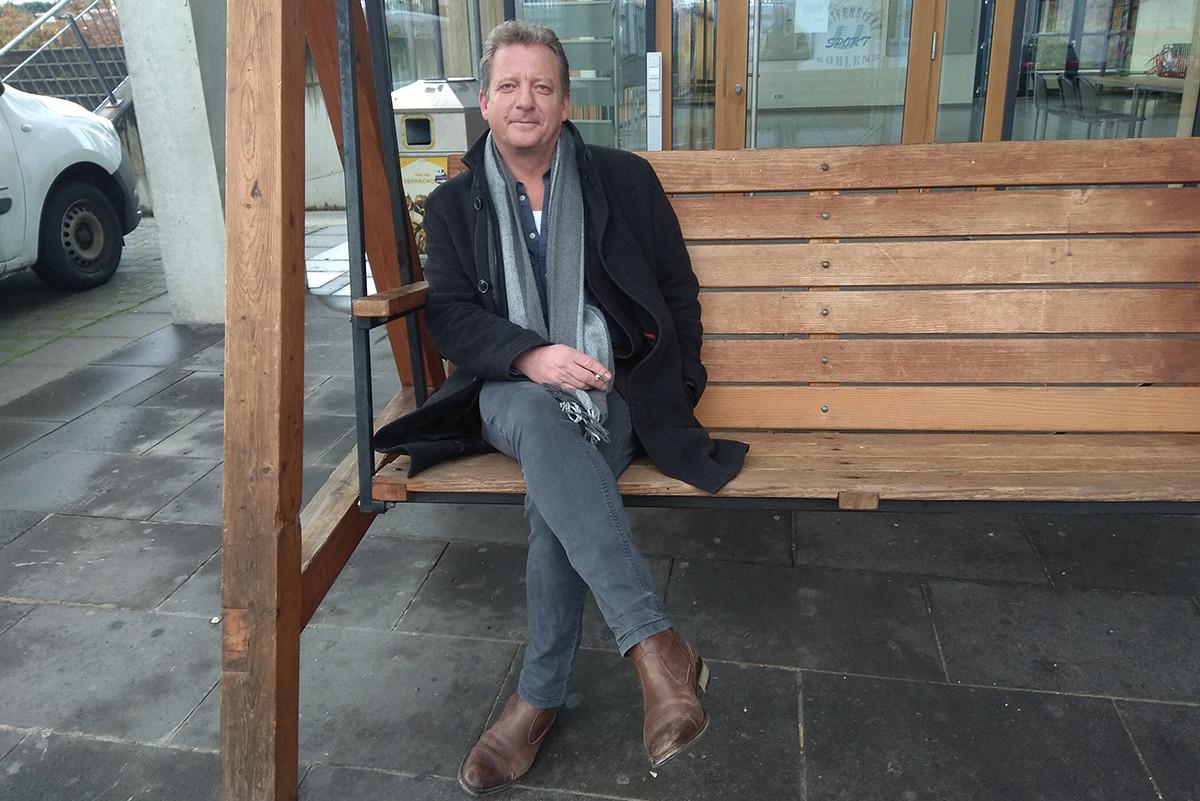 Christian Geulen wollte eigentlich Soziologe werden. Heute ist er Professor für Geschichtswissenschaften in Koblenz. Foto: Markus Möwis