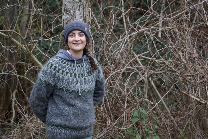 Pia Niekerken ist froh, einen krisenfesten Job zu haben. Foto: Olivia Schwarz