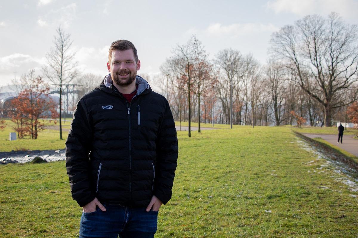 Jan Schrader möchte das Anssehen der Gaming-Gemeinschaft in der Gesellschaft verbessern. Foto: Olivia Schwarz