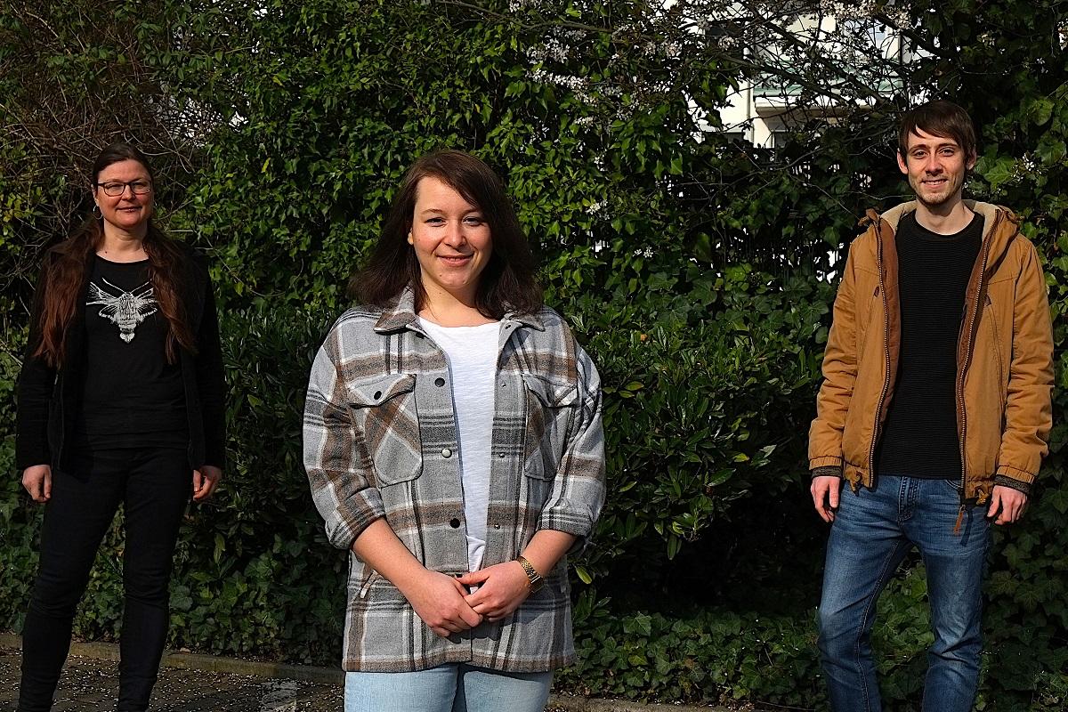Dr. Imke von Helden, Thorsten Lewentz und Corinna Schaffranek haben viel Zeit und Herzblut in den Tag der offenen Tür investiert.