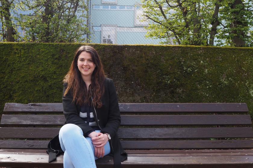 Astrid Hill studiert ohne Abitur. Sie finanziert ihr Studium mit Hilfe eines Stipendiums. Foto: Sara Pipaud
